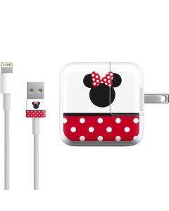 Minnie Mouse Symbol iPad Charger (10W USB) Skin