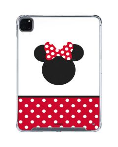 Minnie Mouse Symbol iPad Pro 11in (2020) Clear Case