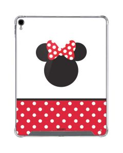 Minnie Mouse Symbol iPad Pro 12.9in (2018-19) Clear Case