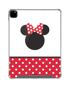 Minnie Mouse Symbol iPad Pro 12.9in (2020) Clear Case