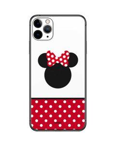 Minnie Mouse Symbol iPhone 11 Pro Max Skin