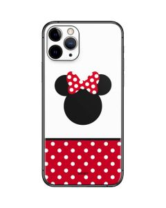 Minnie Mouse Symbol iPhone 11 Pro Skin