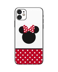 Minnie Mouse Symbol iPhone 11 Skin