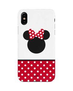 Minnie Mouse Symbol iPhone XS Max Lite Case