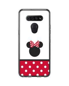 Minnie Mouse Symbol LG K51/Q51 Clear Case