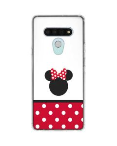 Minnie Mouse Symbol LG Stylo 6 Clear Case