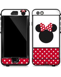 Minnie Mouse Symbol LifeProof Nuud iPhone Skin