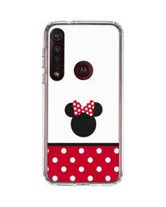 Minnie Mouse Symbol Moto G8 Plus Clear Case
