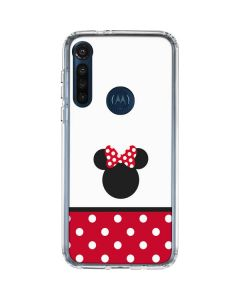 Minnie Mouse Symbol Moto G8 Power Clear Case