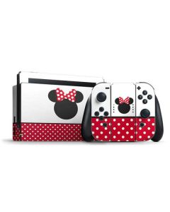 Minnie Mouse Symbol Nintendo Switch Bundle Skin