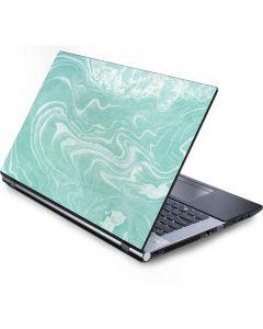 Mint Marbling Generic Laptop Skin