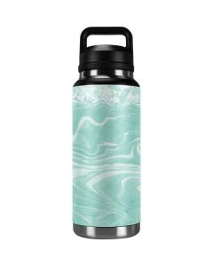 Mint Marbling YETI Rambler 36oz Bottle Skin