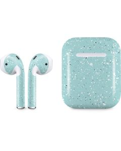 Mint Speckled Apple AirPods 2 Skin