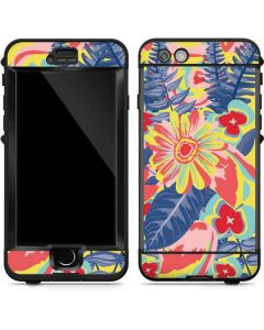 Mirrored Flowers LifeProof Nuud iPhone Skin