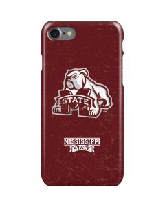 Mississippi State Bulldogs Distressed iPhone SE Lite Case