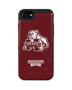 Mississippi State Bulldogs Distressed iPhone SE Wallet Case
