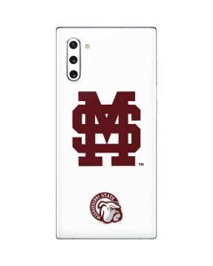 Mississippi State Interlocking Logo Galaxy Note 10 Skin
