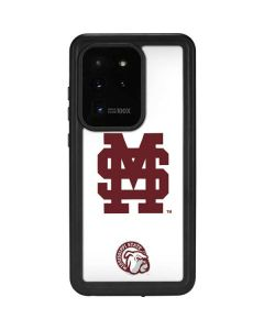 Mississippi State Interlocking Logo Galaxy S20 Ultra 5G Waterproof Case
