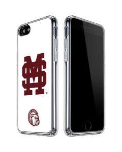 Mississippi State Interlocking Logo iPhone SE Clear Case