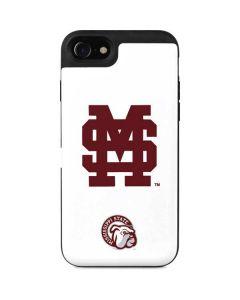 Mississippi State Interlocking Logo iPhone SE Wallet Case