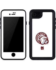 Mississippi State Interlocking Logo iPhone SE Waterproof Case