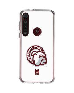 Mississippi State Interlocking Logo Moto G8 Plus Clear Case