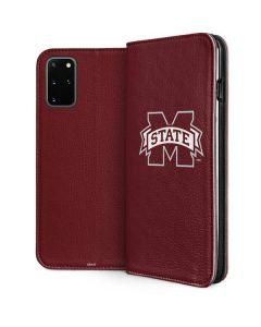 Mississippi State Logo Galaxy S20 Plus Folio Case