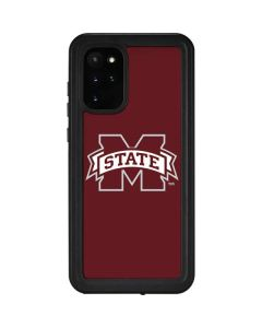 Mississippi State Logo Galaxy S20 Plus Waterproof Case