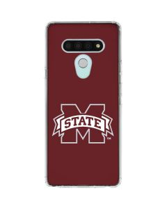Mississippi State Logo LG Stylo 6 Clear Case