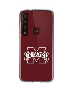 Mississippi State Logo Moto G8 Plus Clear Case