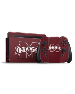 Mississippi State Logo Nintendo Switch Bundle Skin