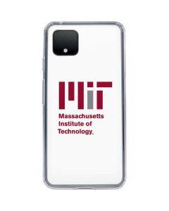 MIT Logo Google Pixel 4 XL Clear Case