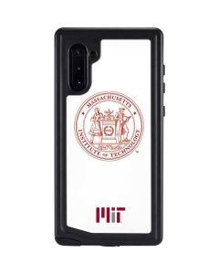 MIT White Logo Galaxy Note 10 Waterproof Case