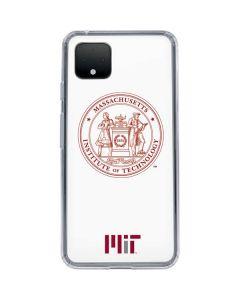 MIT White Logo Google Pixel 4 XL Clear Case