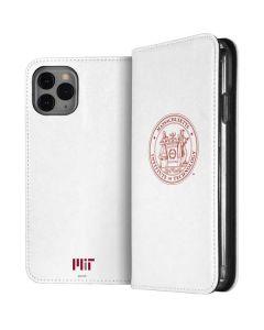 MIT White Logo iPhone 11 Pro Folio Case