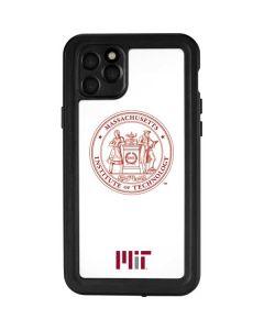 MIT White Logo iPhone 11 Pro Max Waterproof Case