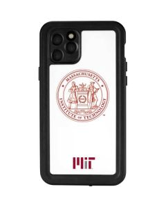 MIT White Logo iPhone 11 Pro Waterproof Case