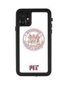 MIT White Logo iPhone 11 Waterproof Case