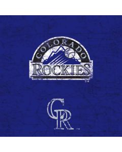 Colorado Rockies- Alternate Solid Distressed Generic Laptop Skin
