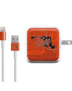 Baltimore Orioles Home Turf iPad Charger (10W USB) Skin