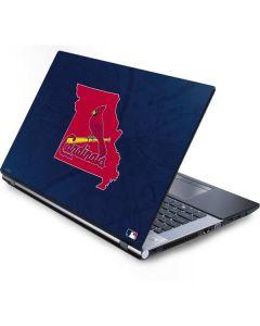 St. Louis Cardinals Home Turf Generic Laptop Skin