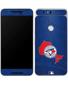 Toronto Blue Jays Home Turf Google Nexus 6P Skin