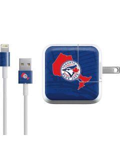 Toronto Blue Jays Home Turf iPad Charger (10W USB) Skin