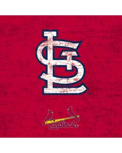 St. Louis Cardinals - Solid Distressed PlayStation Classic Bundle Skin