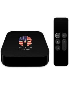 Molon Labe Apple TV Skin