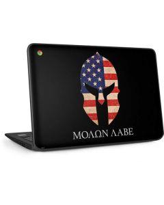 Molon Labe HP Chromebook Skin