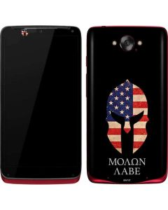 Molon Labe Motorola Droid Skin