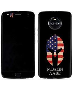 Molon Labe Moto X4 Skin