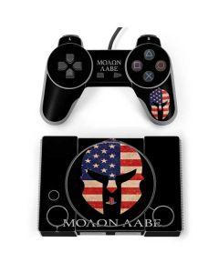 Molon Labe PlayStation Classic Bundle Skin