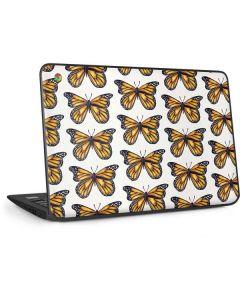 Monarch Butterflies HP Chromebook Skin